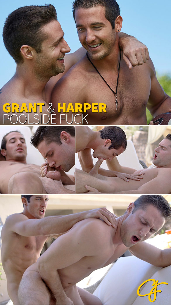 Corbin Fisher: Grant fucks Harper raw