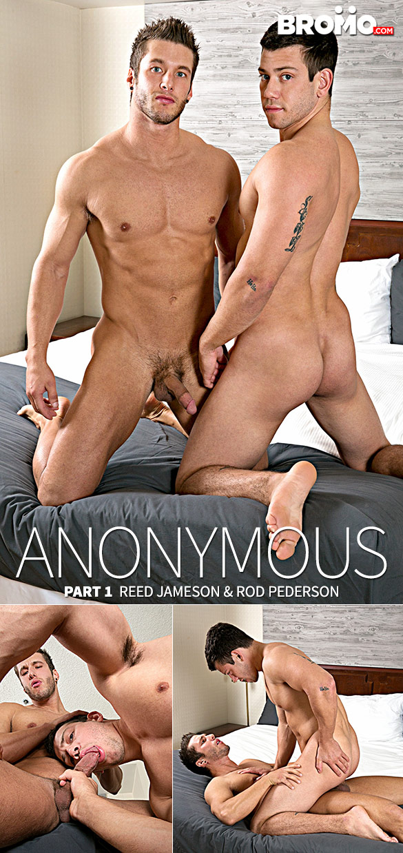 "Bromo: Reed Jameson rides Rod Pederson bareback in ""Anonymous, Part 1"""