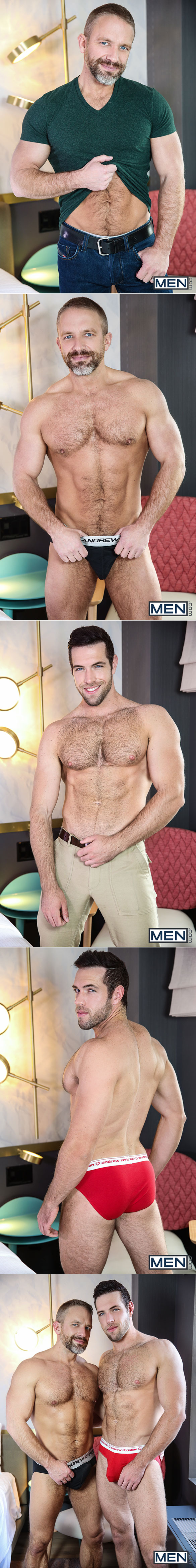 "Men.com: Alex Mecum and Dirk Caber flip fuck in ""Irresponsible, Part 2"""