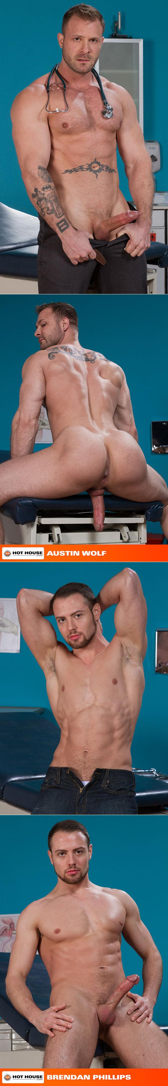 "HotHouse: Austin Wolf fucks Brendan Phillips in ""Doc's Orders"""