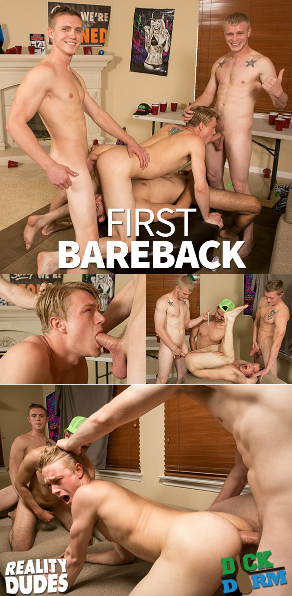 "Reality Dudes: Ken and Casper Young get fucked by Joe Shaw and Zane Anders in ""First Bareback"""