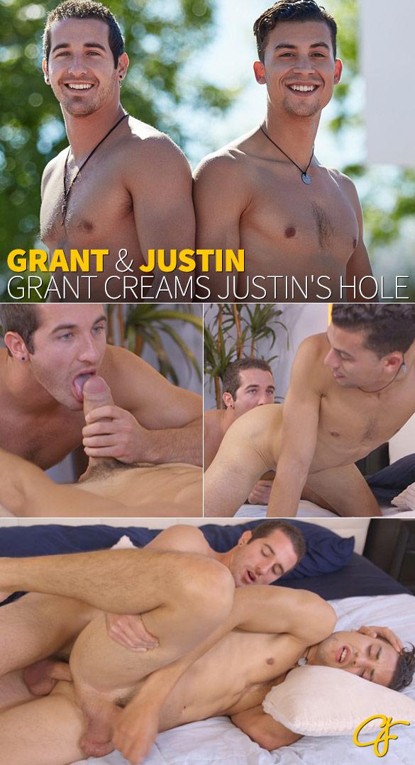 Corbin Fisher: Grant fucks Justin raw
