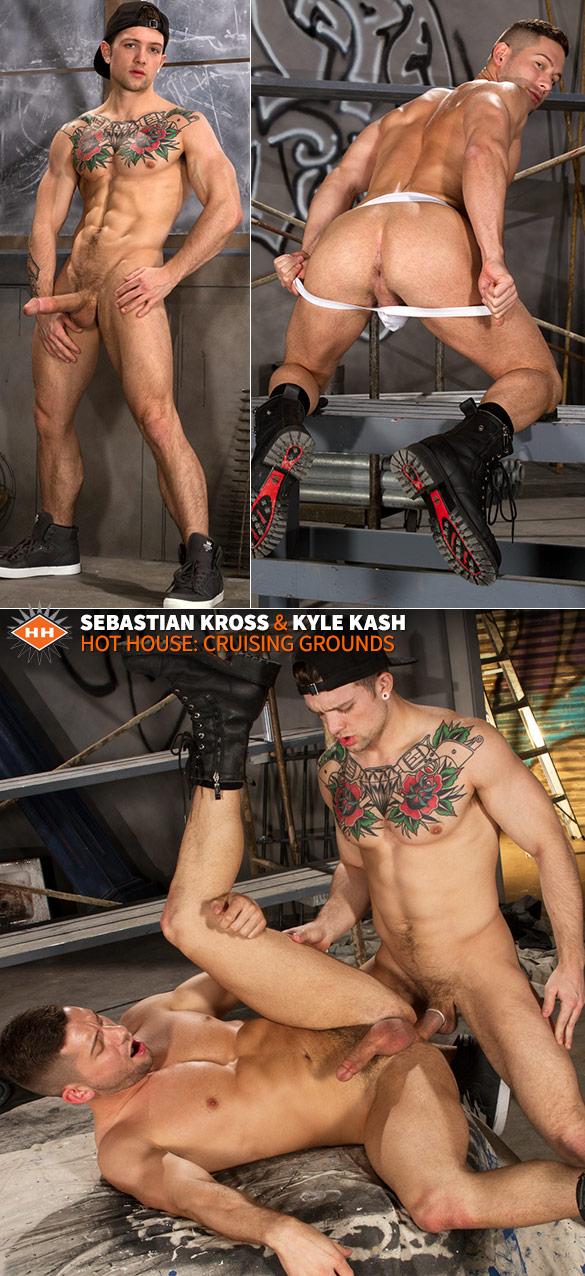 "HotHouse: Sebastian Kross fucks Kyle Kash  in ""Cruising Grounds"""