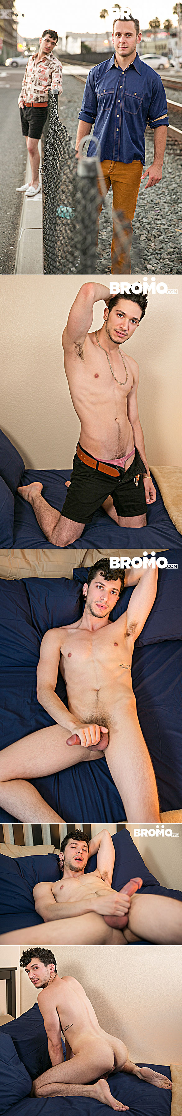 "Bromo: Brenner Bolton and Antonio Manero flip fuck raw in ""Bareback Cruising, Part 2"""