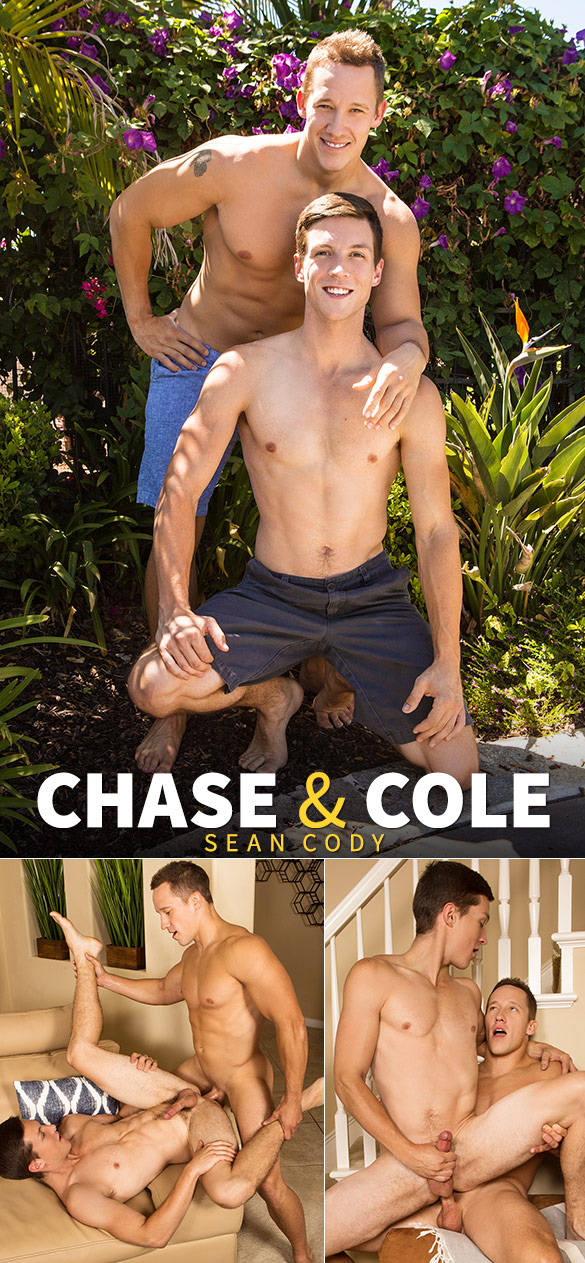 Sean Cody: Chase fucks Cole's tight hole bareback