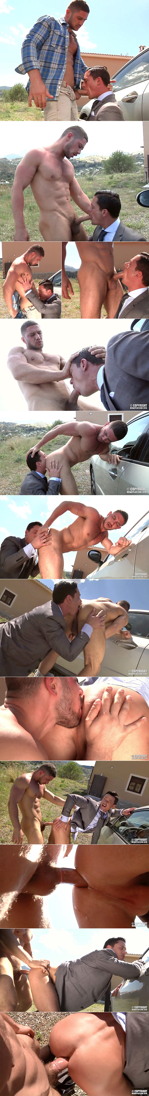 "MenAtPlay: Dato Foland fucks Rex Cameron in ""Campaign Erection"""