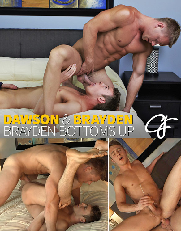 Corbin Fisher: Dawson bangs Brayden raw