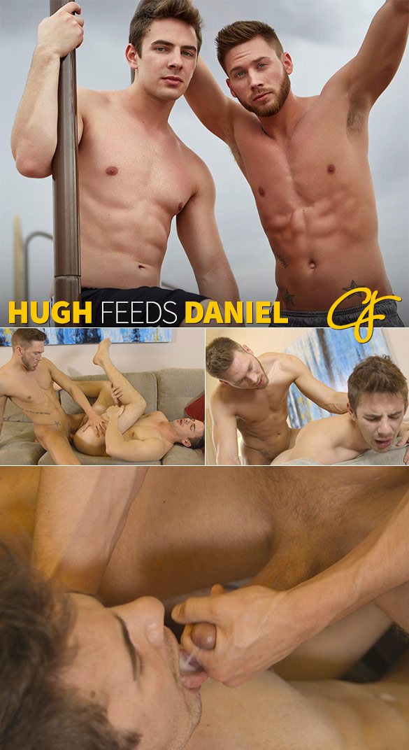 Corbin Fisher: Hugh bangs Daniel raw