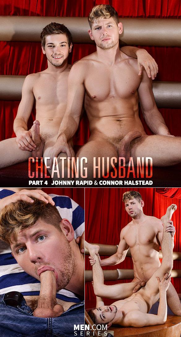 "Men.com: Connor Halstead fucks Johnny Rapid in ""Cheating Husband, Part 4"""