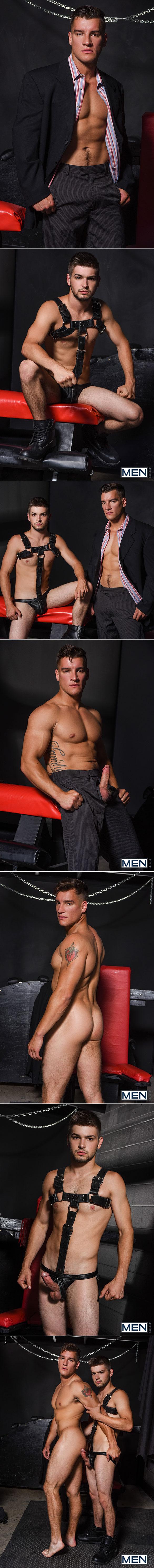 """Men.com: Johnny Rapid fucks Jordan Boss in """"Twink Master, Part 3"""""""