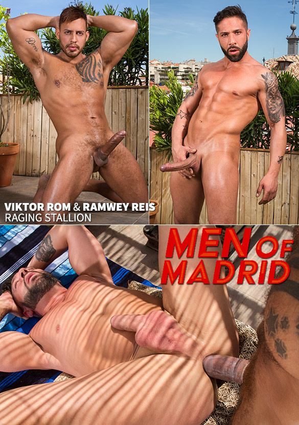 "Raging Stallion: Viktor Rom pounds Ramwey Reis in ""Men of Madrid"""