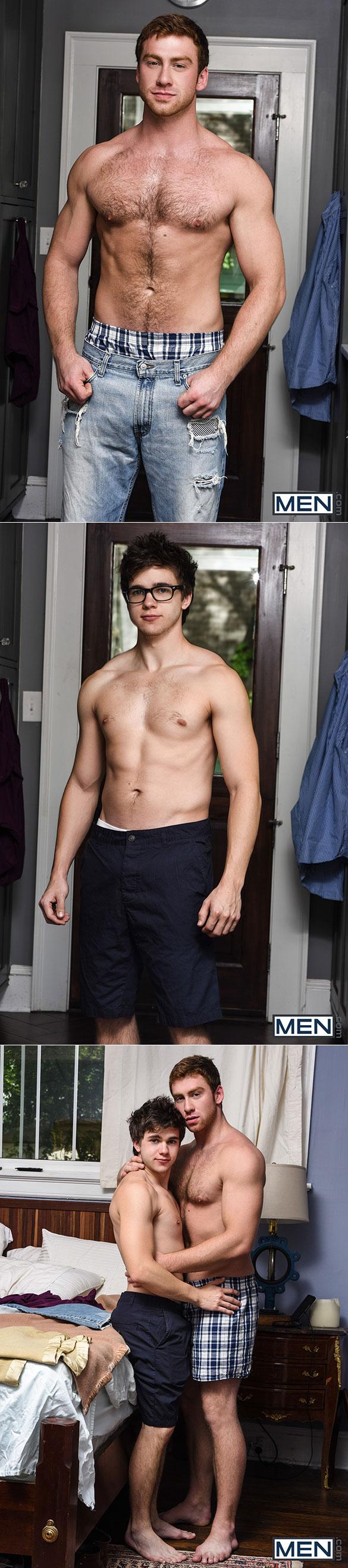 "Men.com: Connor Maguire fucks Will Braun in ""Straight Guy Pact"""