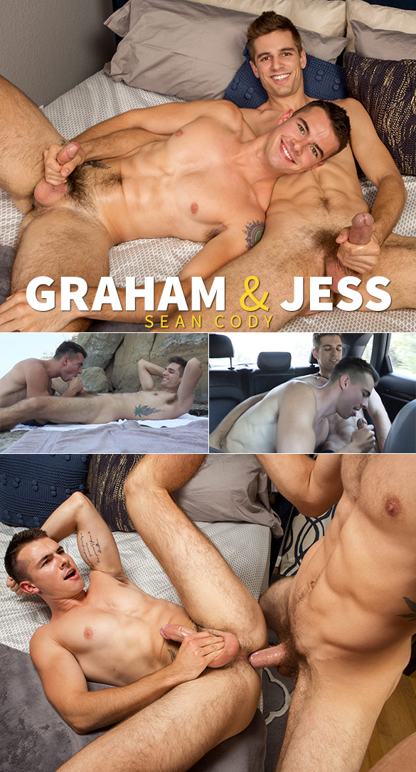 Sean Cody: Big-dicked Jess creams Graham's hole
