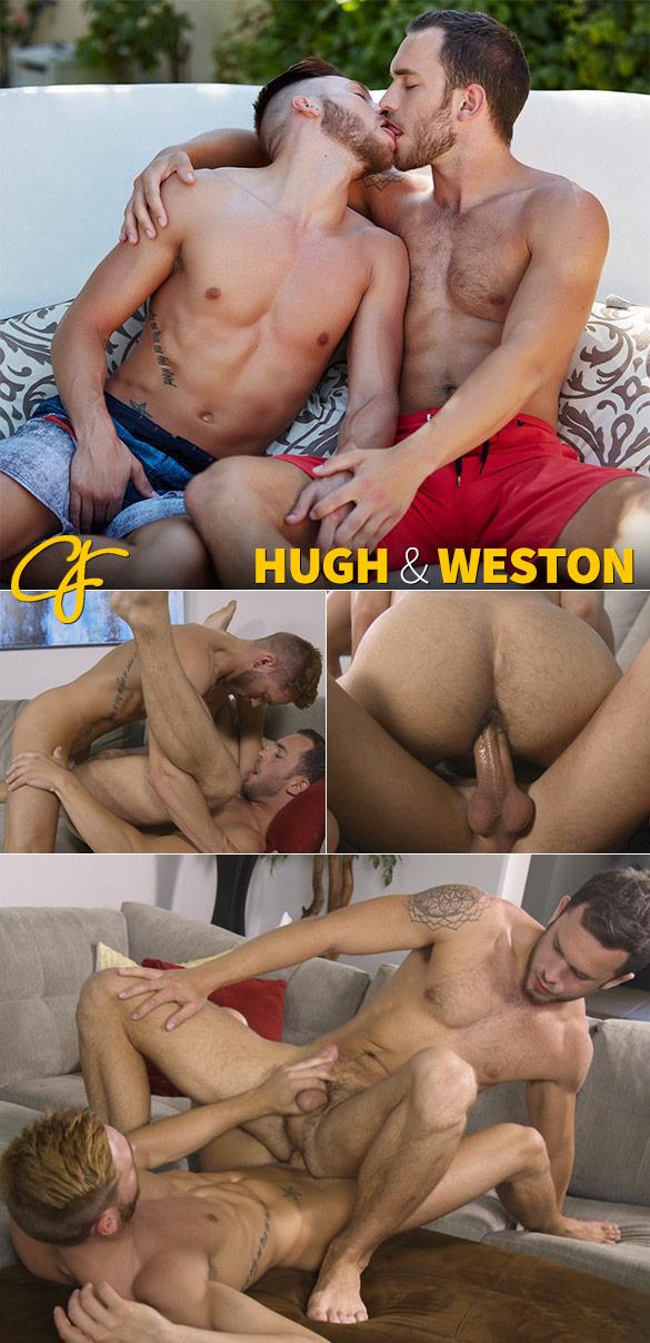 Corbin Fisher: Weston rides Hugh bareback
