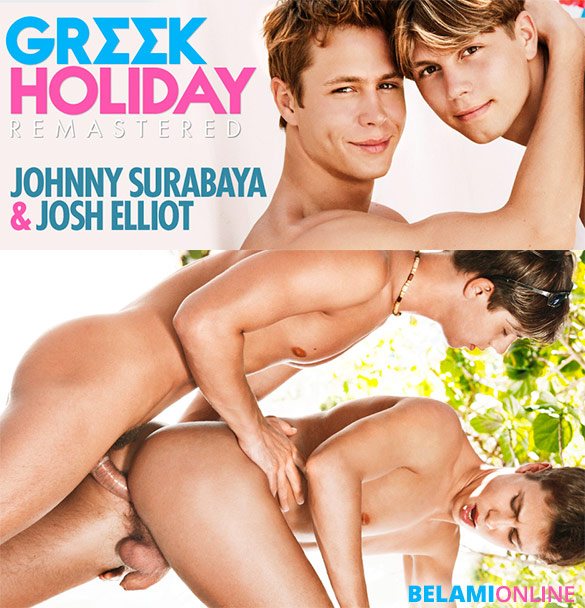 "BelAmi: Josh Elliot fucks Johnny Surabaya in ""Greek Holiday – Remastered"""