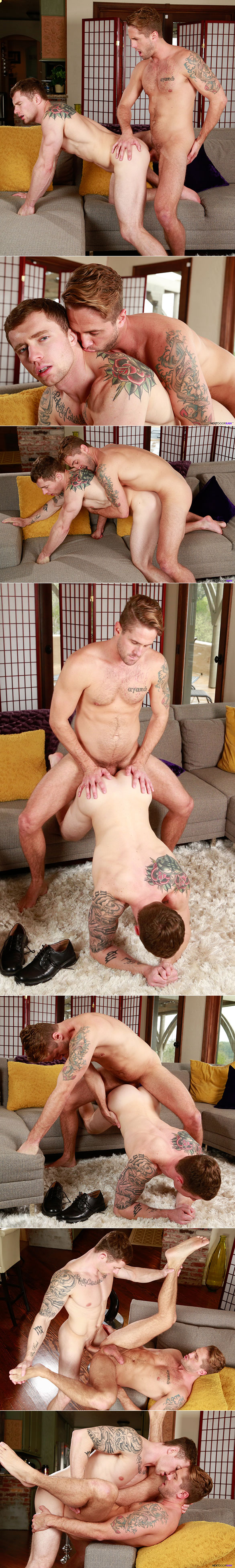 """Next Door Raw: Markie More and Wesley Woods bang each other bareback in """"Handy Handyman"""""""