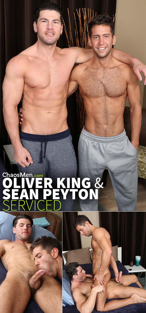 ChaosMen: Oliver King and Sean Peyton suck each other off