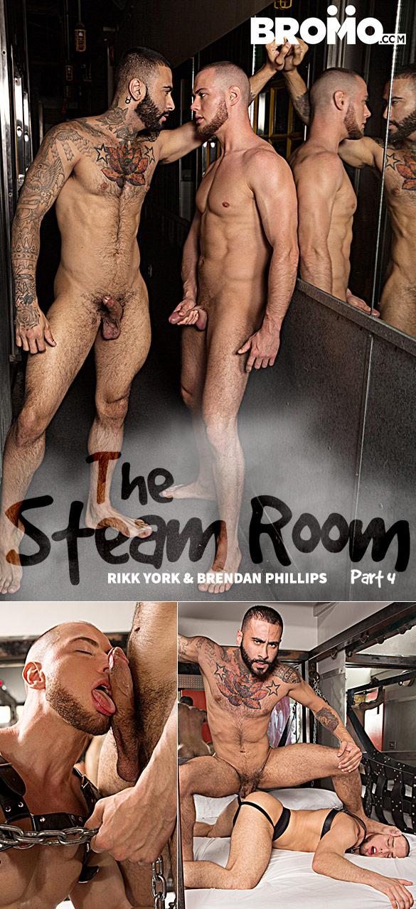"""Bromo: Rikk York pounds Brendan Phillips in """"The Steam Room, Part 4"""""""