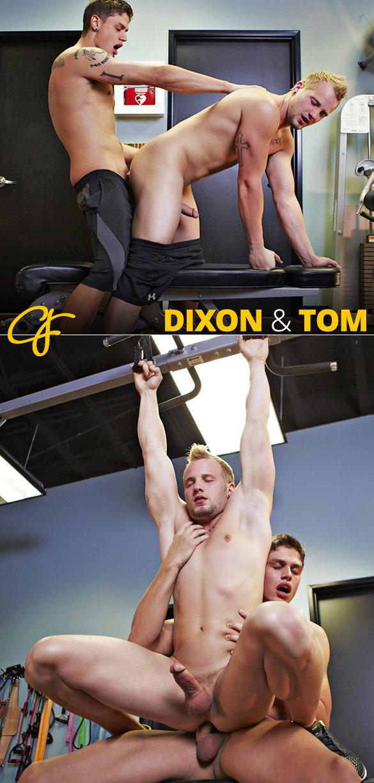 Corbin Fisher: Dixon creams Tom's hole