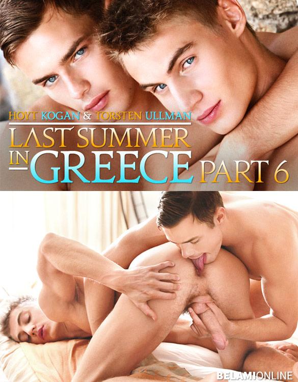 """BelAmi: Hoyt Kogan barebacks Torsten Ullman in """"Las Summer in Greece, Part 6"""""""
