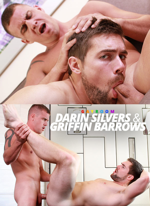 "GayRoom: Darin Silvers fucks Griffin Barrows in ""Dicked Down & Dirty"""