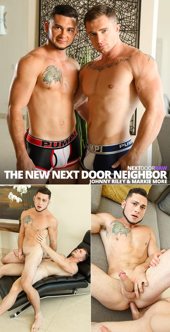 """Next Door Raw: Markie More barebacks Johnny Riley in """"The New Next Door Neighbor"""""""