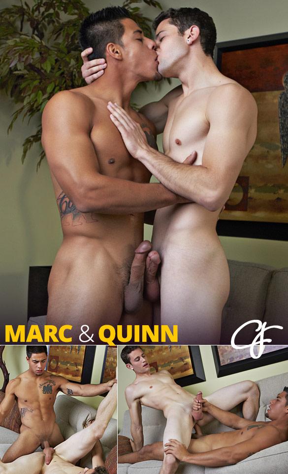 Corbin Fisher: Quinn rides Marc bareback