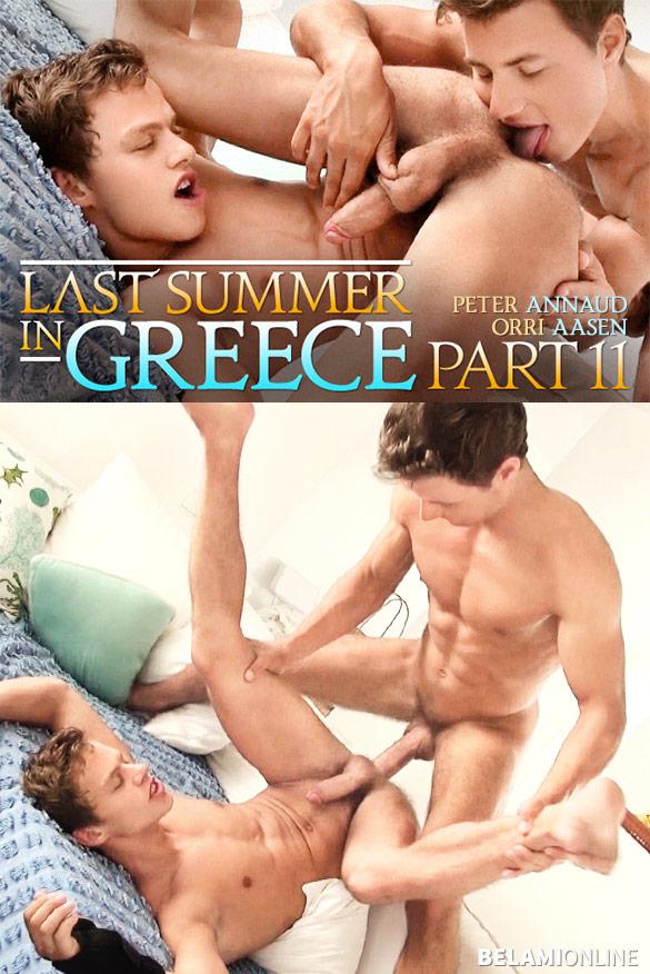 """BelAmi: Peter Annaud bangs Orri Aasen bareback in """"Last Summer in Greece, Part 11"""""""