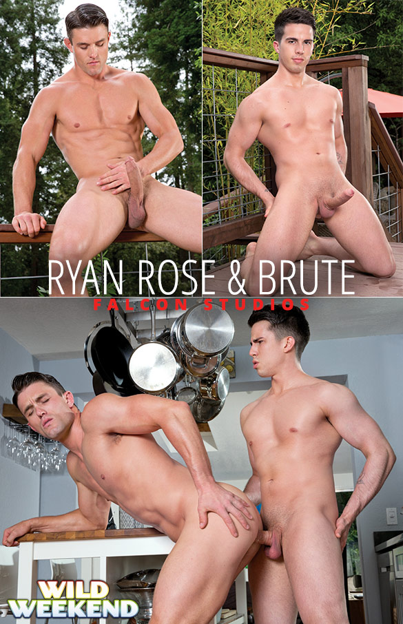 "Falcon Studios: Ryan Rose gets fucked by Brute in ""Wild Weekend"""