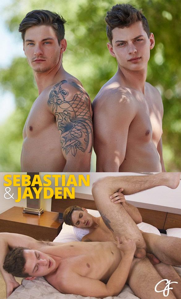 Corbin Fisher: Sebastian tops Jayden raw