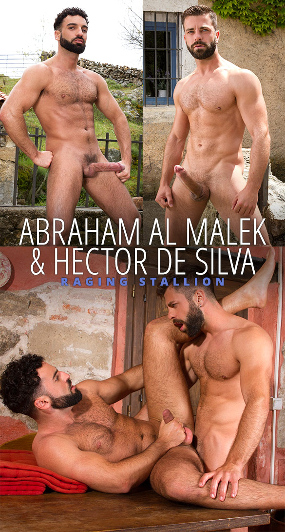 "Raging Stallion: Abraham Al Malek and Hector de Silva flip fuck in ""Hung Country"""