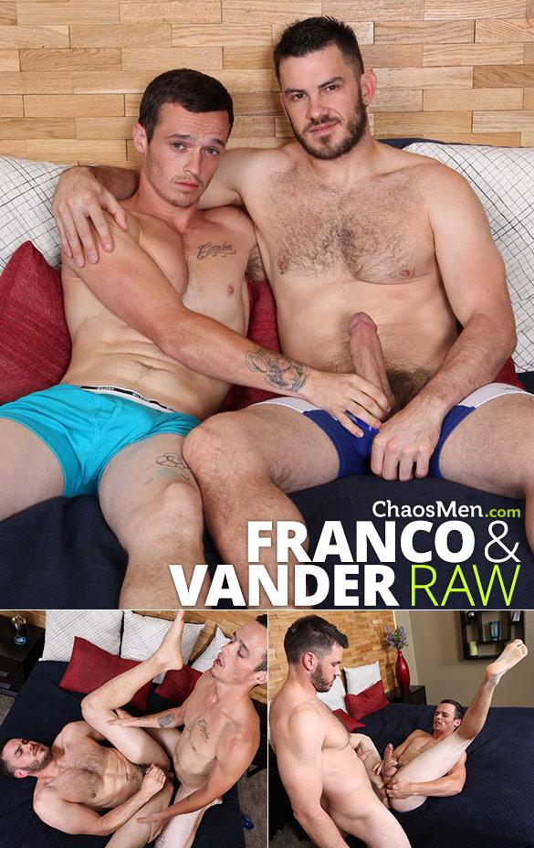 ChaosMen: Franco and Vander flip fuck bareback