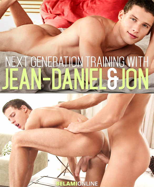 BelAmi: Jean-Daniel fucks Jon Kael's tight hole bareback