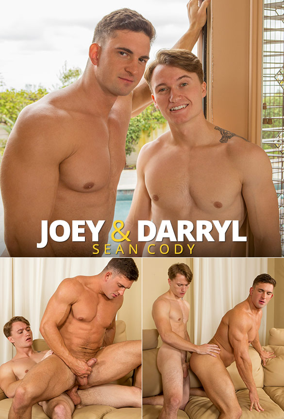 Sean Cody: Newcomer Darryl has his first gay fuck with muscle bottom Joey