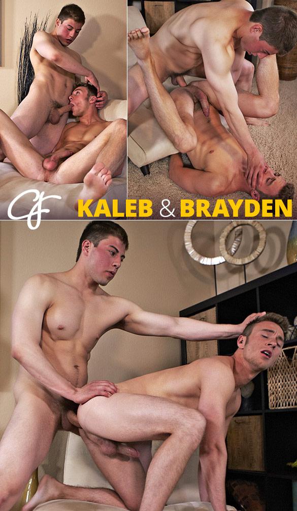 Corbin Fisher: Brayden rides Kaleb bareback