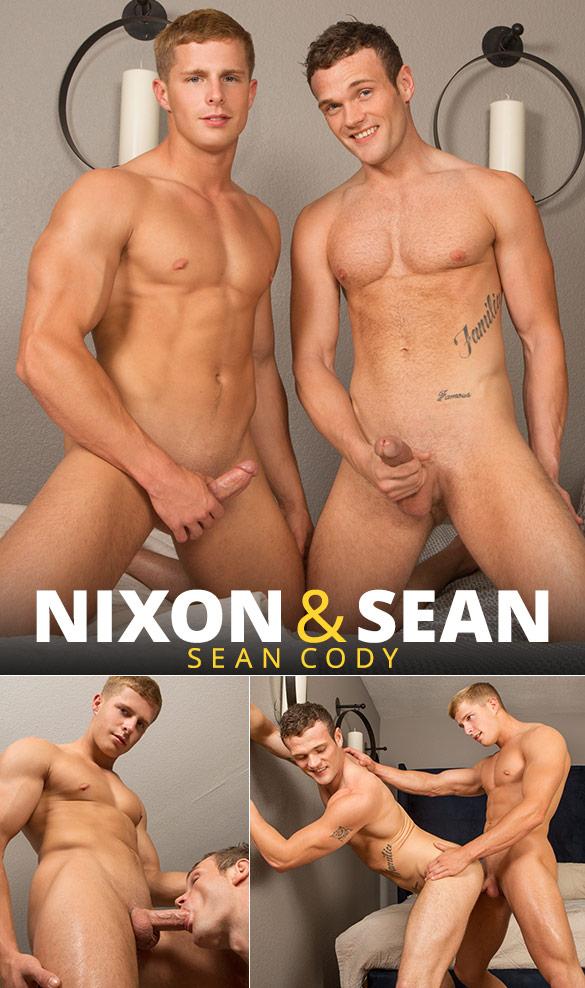 Sean Cody: Nixon barebacks Sean