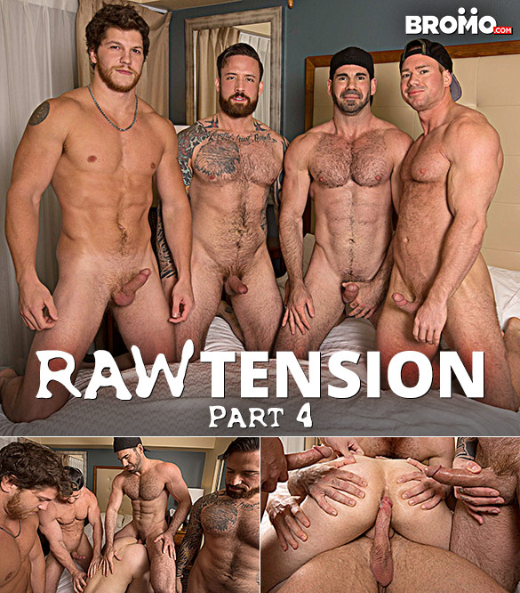 "Bromo: Billy Santoro, Jordan Levine, Beau Warner and Ashton McKay slam James Edwards in ""Raw Tension, Part 4"""
