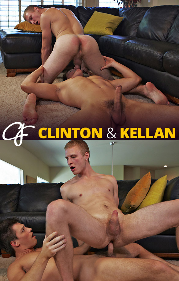 Corbin Fisher: Kellan bangs Clinton raw