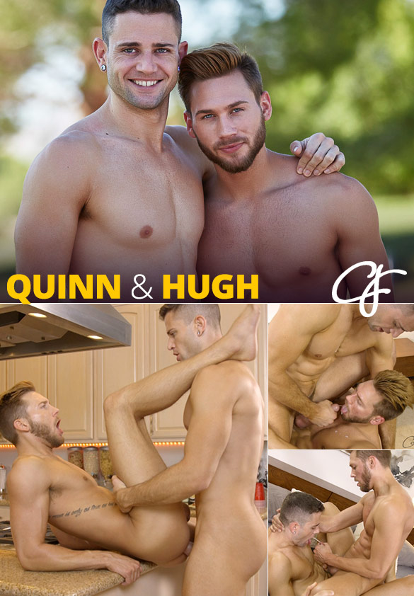 Corbin Fisher: Quinn and Hugh swap loads