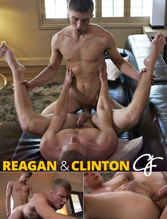 Corbin Fisher: Reagan creams Clinton