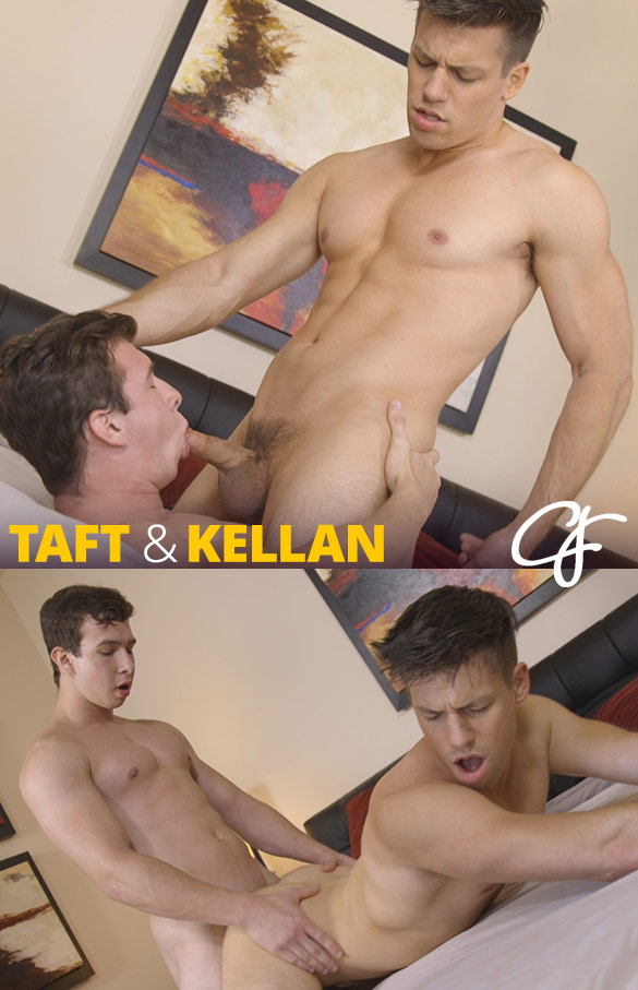 Corbin Fisher: Taft bangs Kellan raw