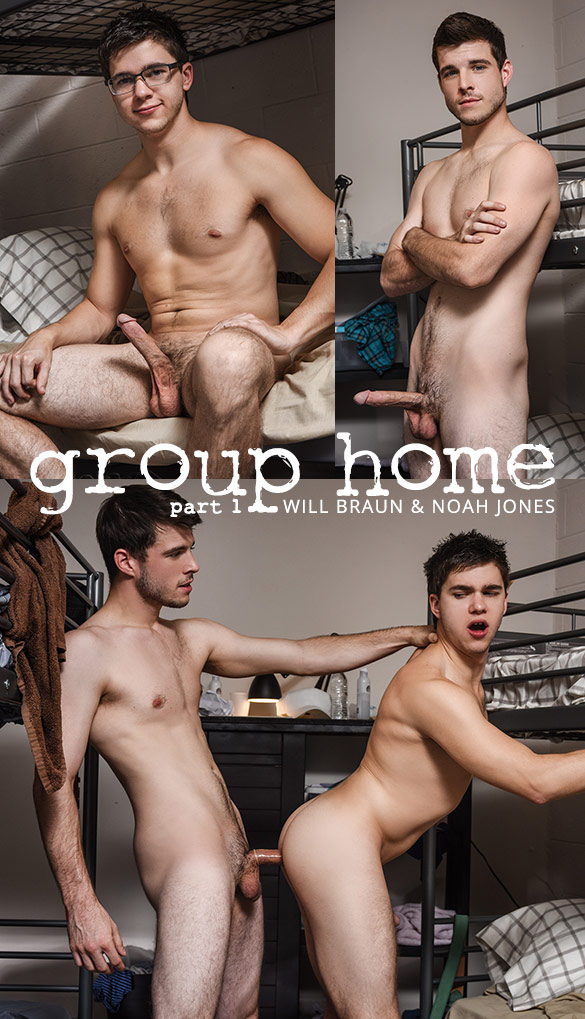 "Men.com: Noah Jones fucks Will Braun in ""Group Home, Part 1"""
