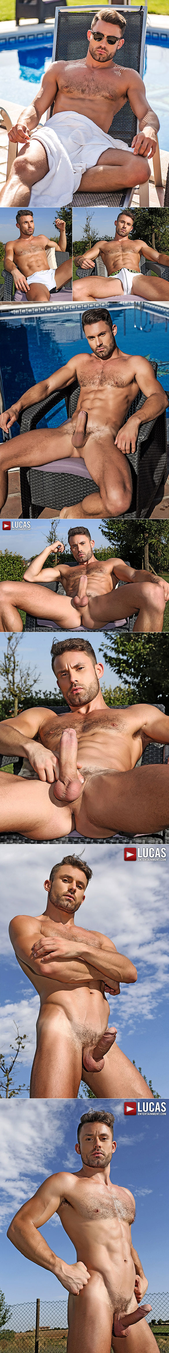 "Lucas Entertainment: Alejandro Torres bangs James Castle raw in ""Bareback Auditions 05"""