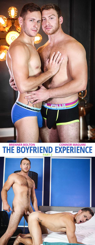 """Men.com: Connor Maguire fucks Brenner Bolton in """"The Boyfriend Experience, Part 2"""""""