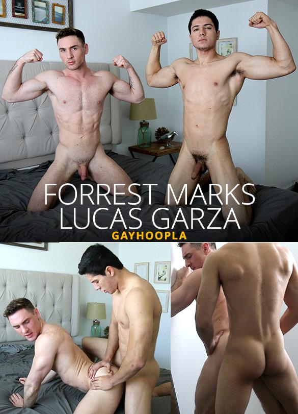 GayHoopla: Lucas Garza fucks Forrest Marks