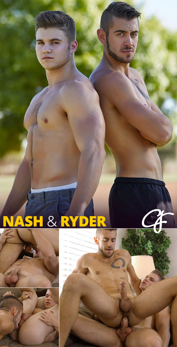 Corbin Fisher: Nash creams Ryder