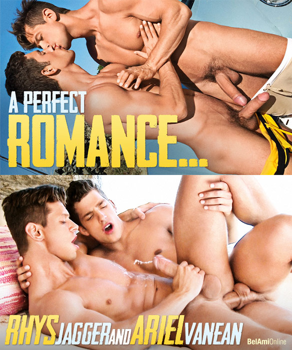 BelAmi: Ariel Vanean and Rhys Jagger fuck each other bareback