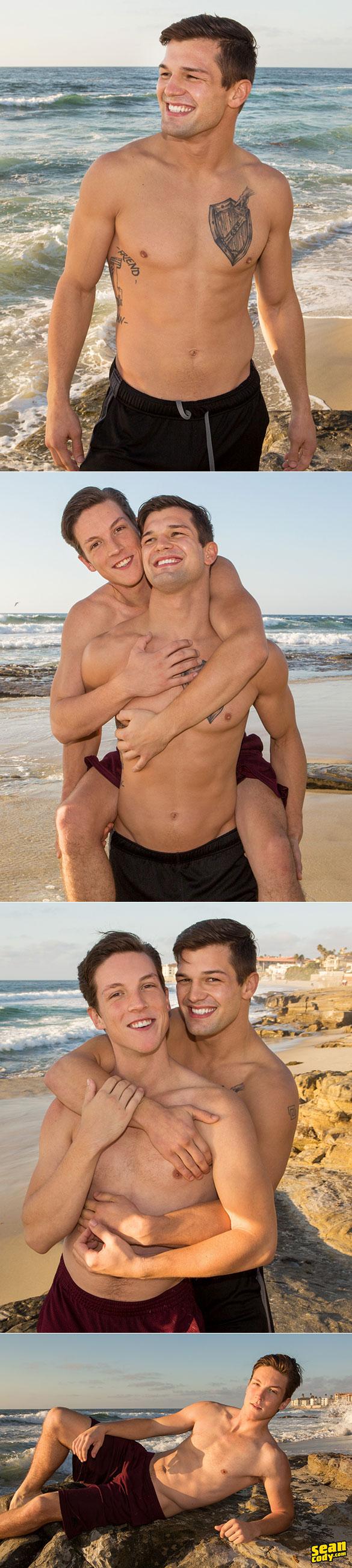 Sean Cody: Brysen pounds Cole bareback