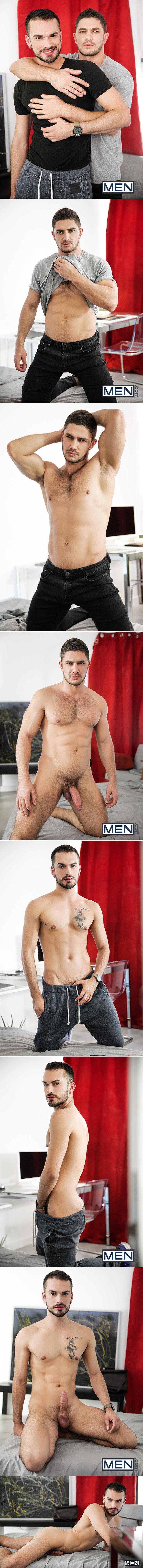 "Men.com: Dato Foland fucks Jean Favre in ""Made You Look, Part 3"""