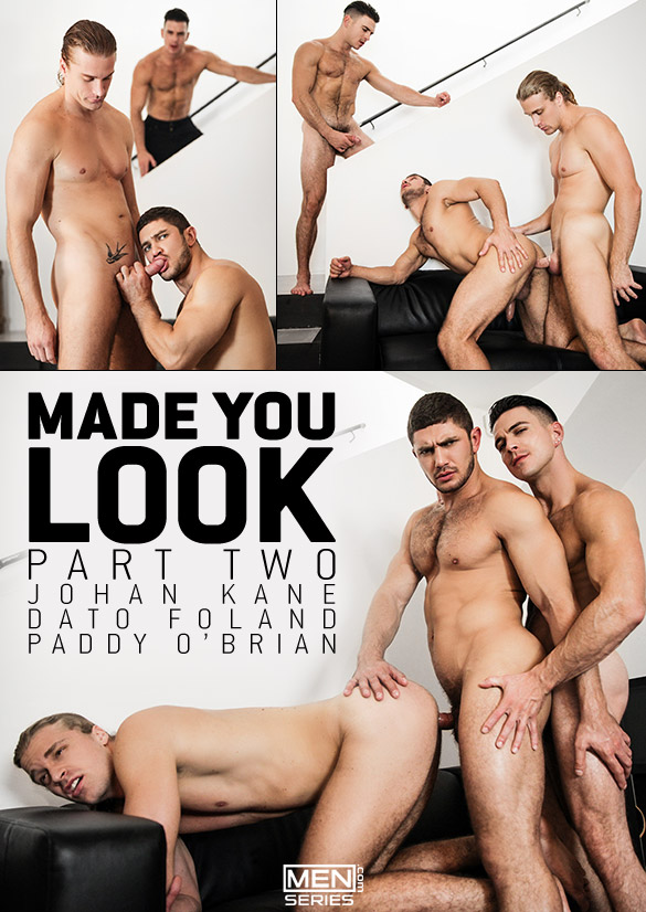 """Men.com: Johan Kane, Dato Foland and Paddy O'Brian in """"Made You Look, Part 2"""""""